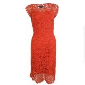 Lauren Ralph Lauren Women's Crochet Dress
